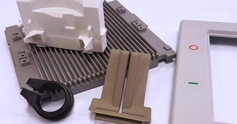 Example plastic mouldings